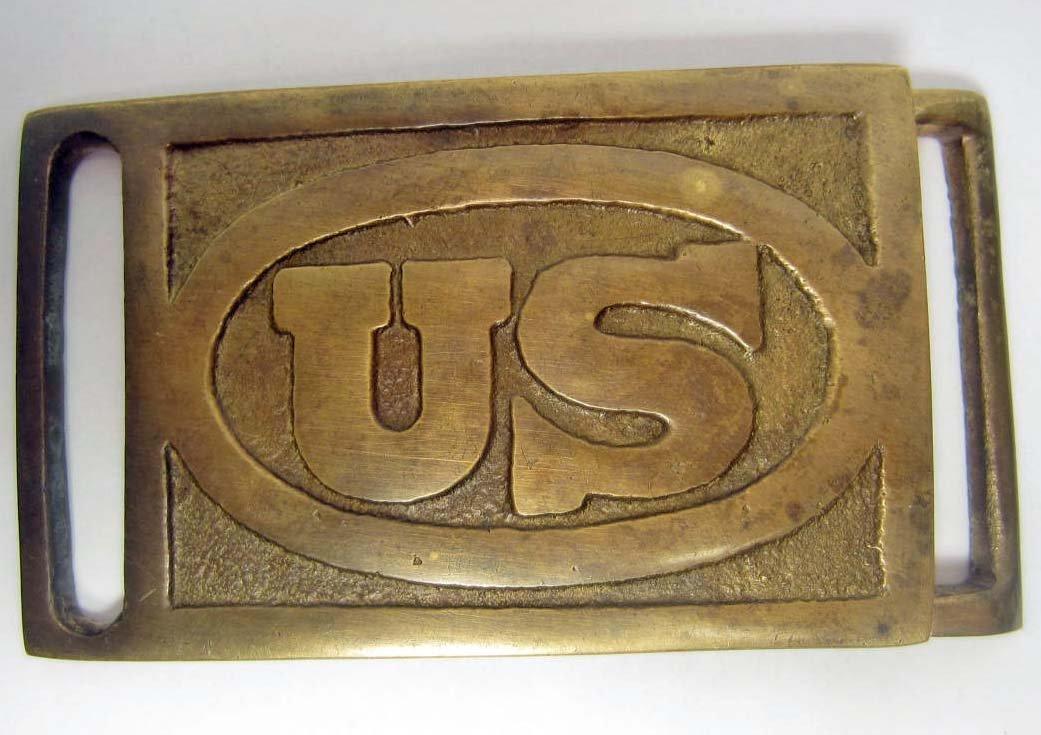 17: US CIVIL WAR ERA UNION ENLISTED MANS BELT BUCKLE
