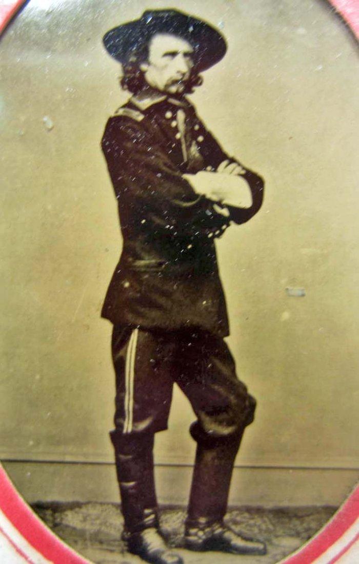 110: US CIVIL WAR ERA UNION ARMY GENERAL GEORGE A CUSTE