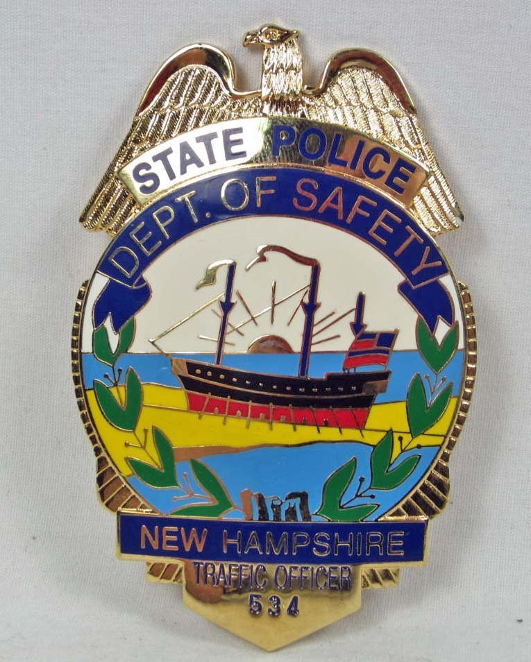 NEW HAMPSHIRE DEPARTMENT OF SAFETY STATE POLICE TRAFFIC