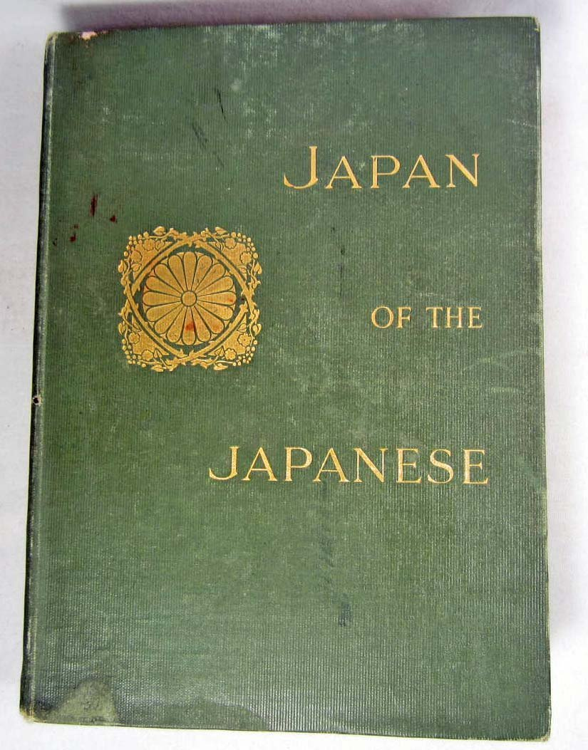 """1912 FIRST EDITION """"JAPAN OF THE JAPANESE"""" HARDCOVER BO"""