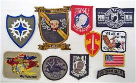 LOT OF US VIETNAM ERA ARMY MILITARY PATCHES