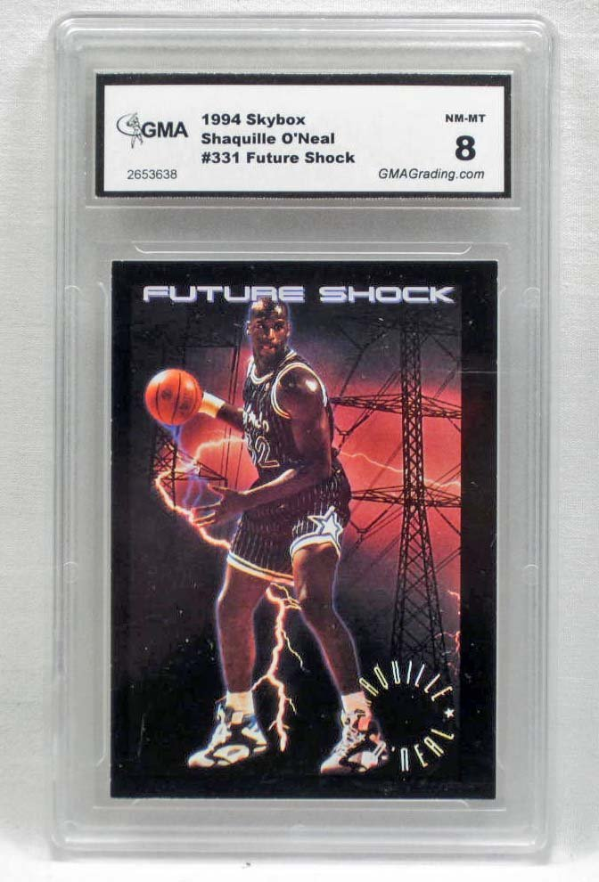 3784 - 1994 SKYBOX SHAQUILLE O'NEAL #331 FUTURE SHOCK B