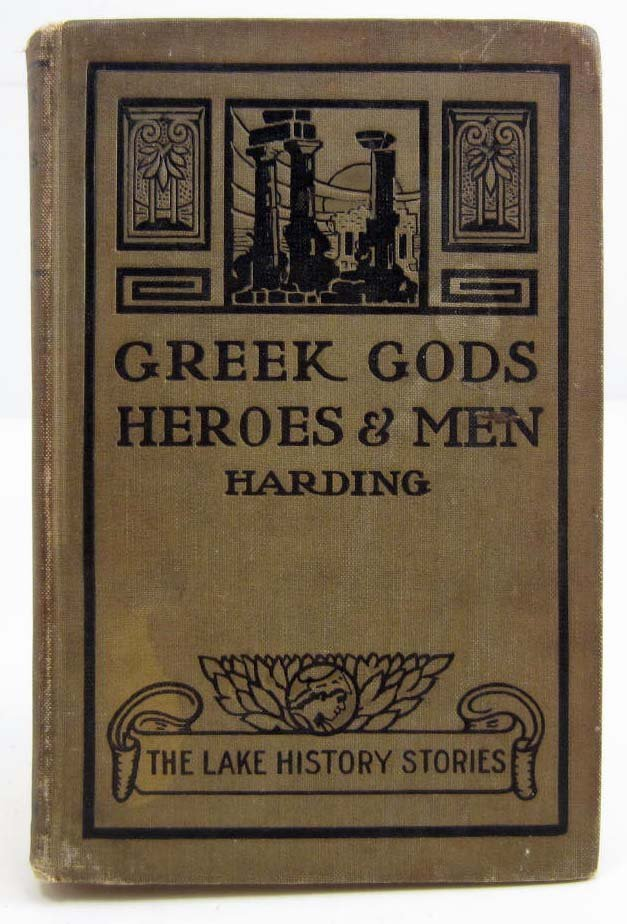 "1897 ""GREEK GODS - HEROES & MEN"" HARDCOVER BOOK"