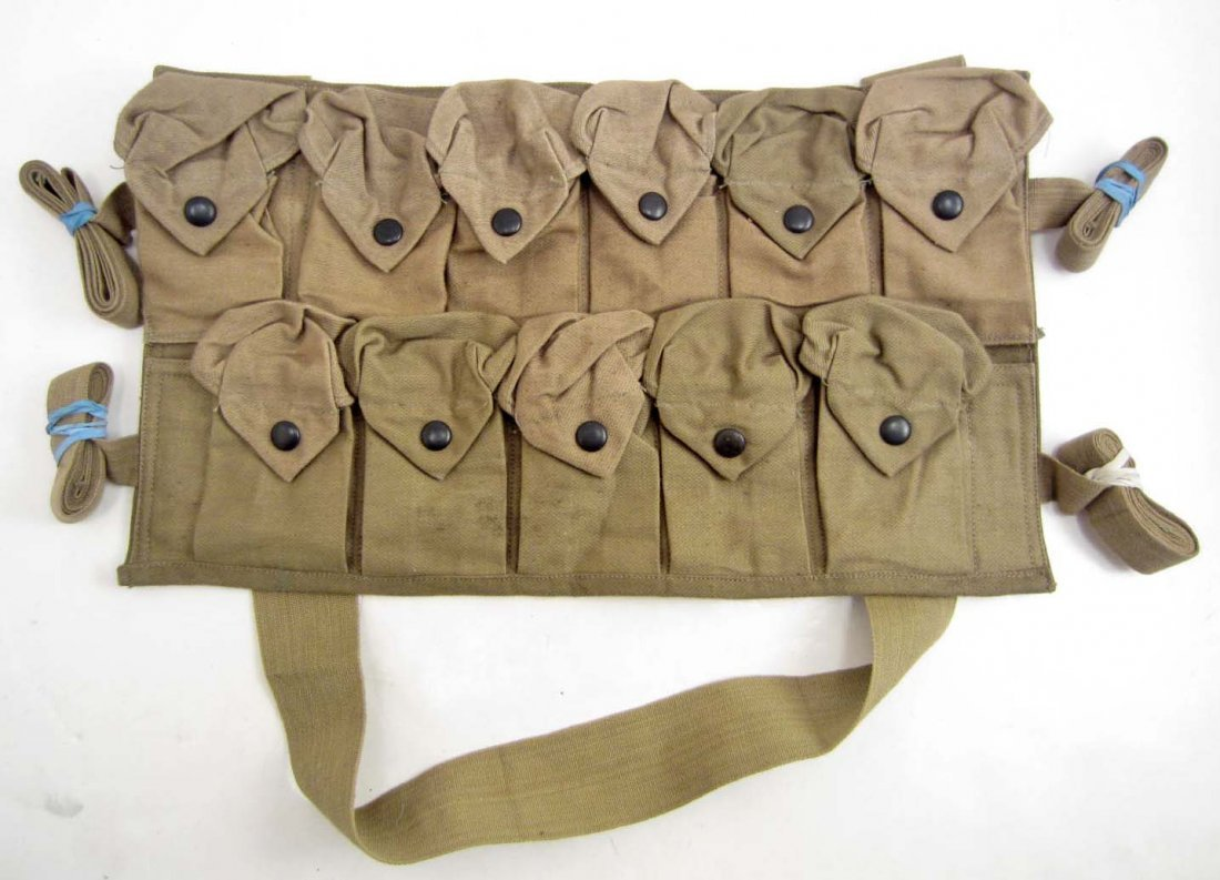 US ARMY CHEST GRENADE CARRYING POUCH