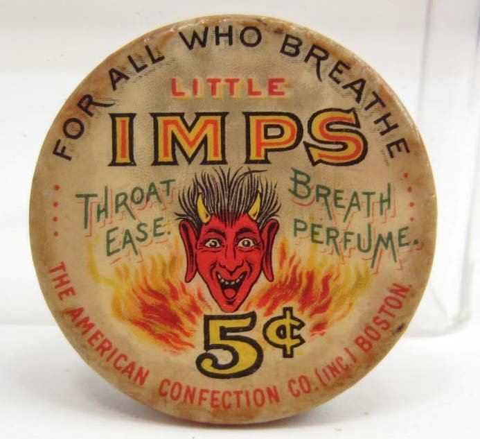 EARLY RED DEVIL LITTLE IMPS THROAT EASE BREATH PERFUME