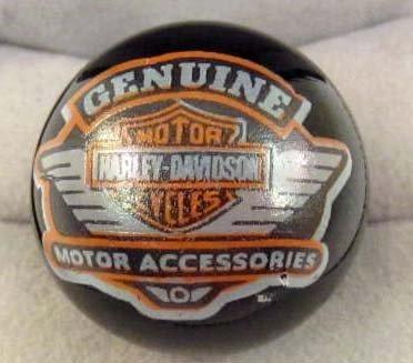 4621 - HARLEY DAVIDSON MOTORCYCLES ADVERTISING MARBLE