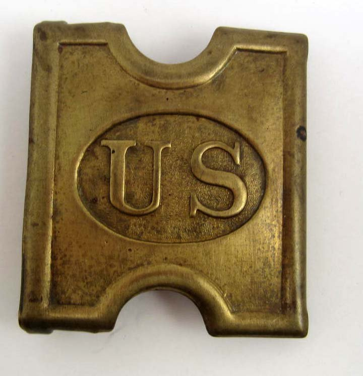 US INDIAN WARS ARMY ENLISTED MANS US BELT BUCKLE