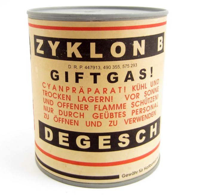 Image result for Zyklon B