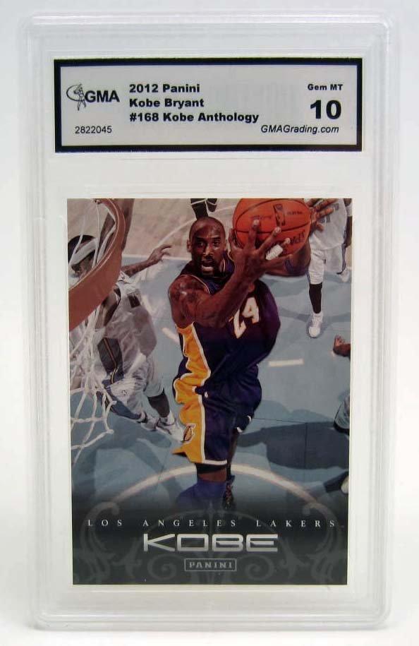 5916 - 2012 PANINI KOBE BRYANT #168 BASKETBALL CARD -