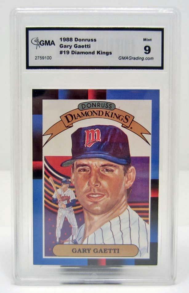 4985 - 1988 DONRUSS GARY GAETTI #19 BASEBALL CARD - GMA