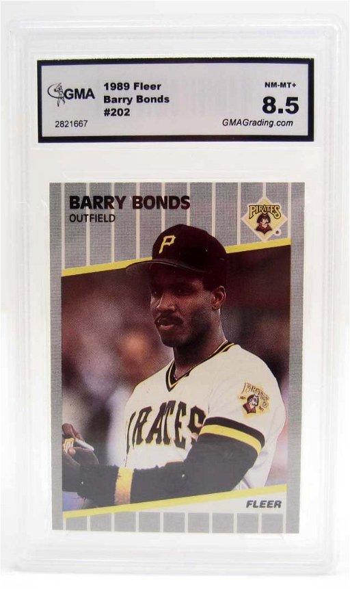 6117 1989 Fleer Barry Bonds 202 Baseball Card Nm Mt Jun 16