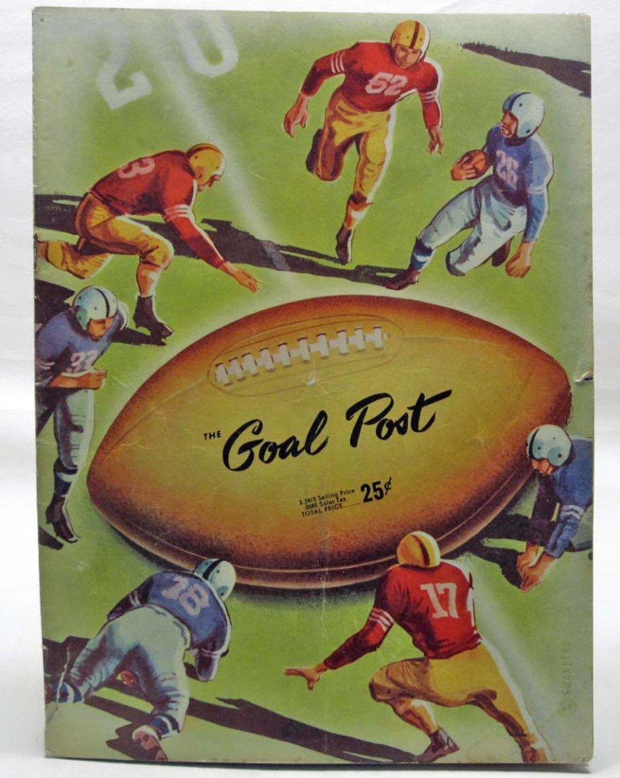 "1951 ""THE GOAL POST"" UCLA VS. SANTA CLARA FOOTBALL"