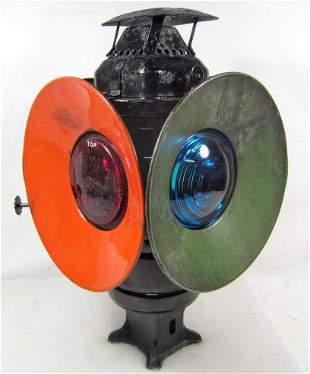 VINTAGE ADLAKE RAILROAD SWITCH LAMP