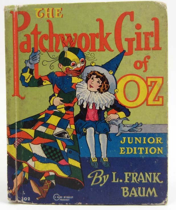 """1939 """"THE PATCHWORK GIRL OF OZ"""" HARDCOVER BOOK BY L."""