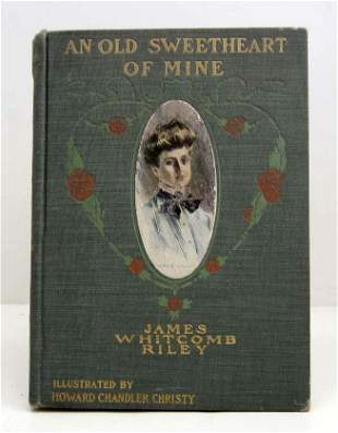 """1902 """"AN OLD SWEETHEART OF MINE"""" HARDCOVER BOOK"""