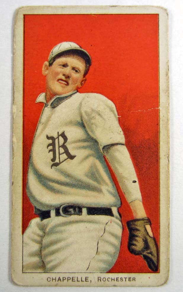 1909-11 T206 BILL CHAPPELLE - ROCHESTER BASEBALL CARD