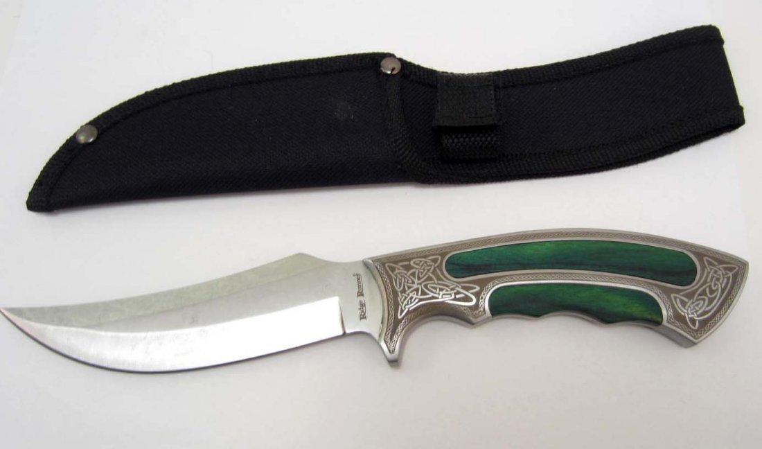 RIDGE RUNNER CELTIC ELITE BOWIE KNIFE W/ SHEATH