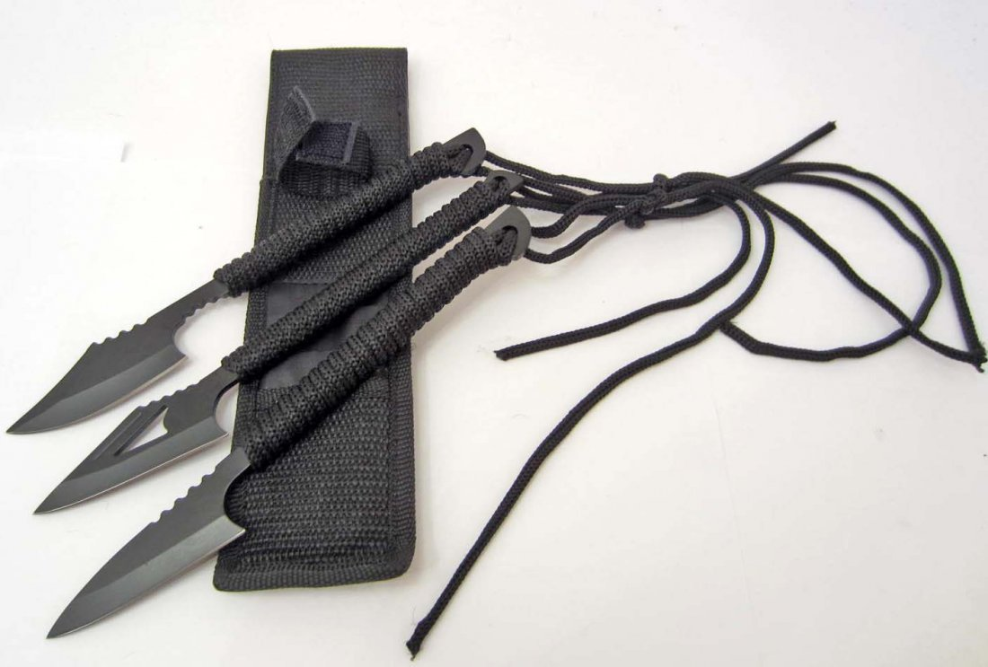 SURVIVAL HARPOONS TRIPLE KNIFE SET