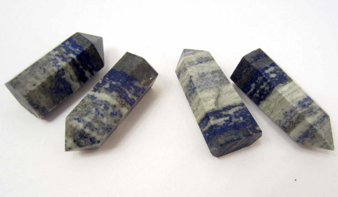LOT OF 563.5 CTS. OF LAPIS LAZULI CRYSTAL POINTS
