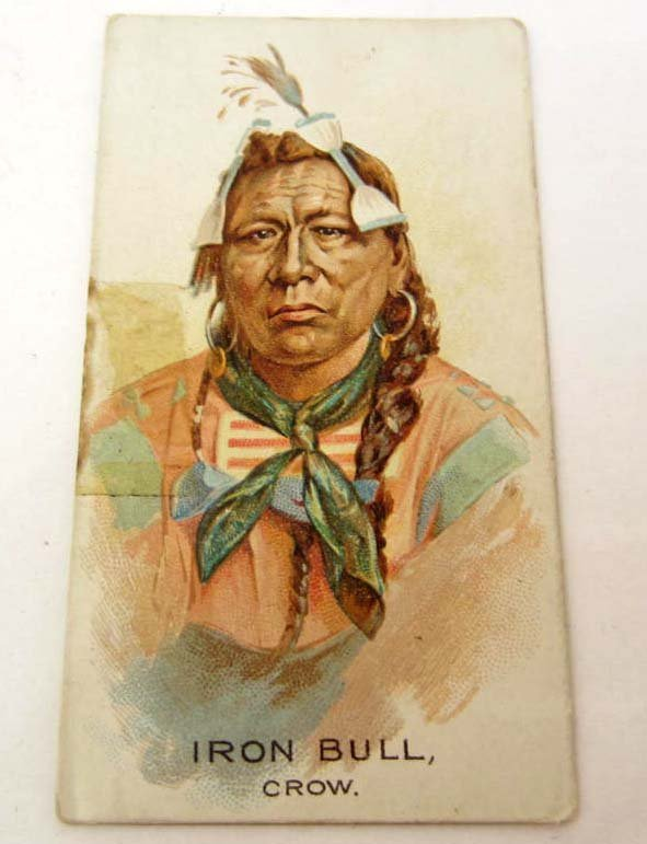 1880 ALLEN & GINTER IRON BULL AMERICAN INDIAN CHIEF