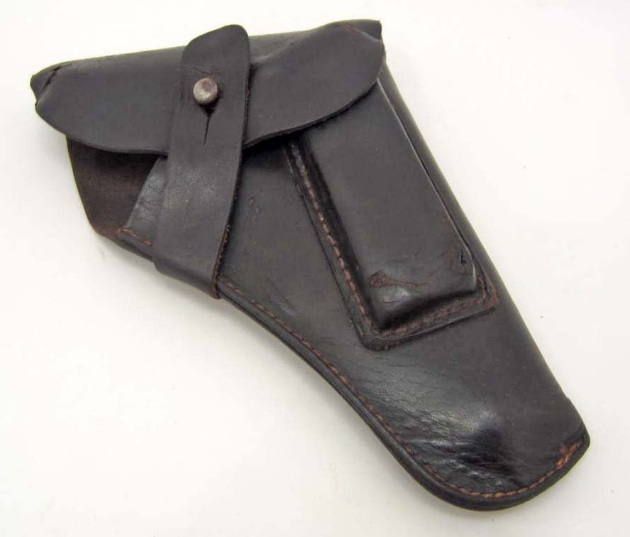 GERMAN NAZI WAFFEN SS WALTHER PPK PISTOL LEATHER