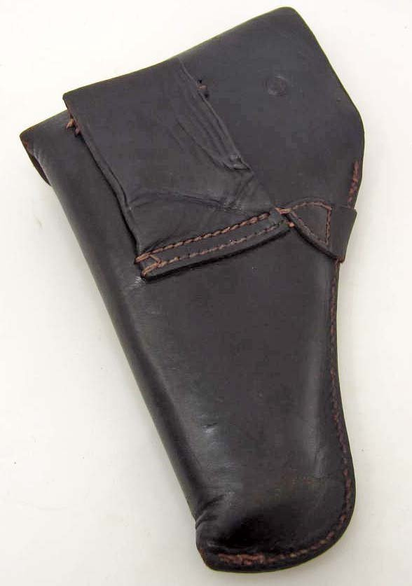 GERMAN NAZI WAFFEN SS WALTHER PPK PISTOL LEATHER - 2
