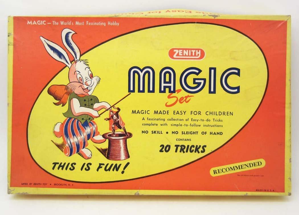 C. 1950'S ZENITH MAGIC KIT IN ORIGINAL BOX
