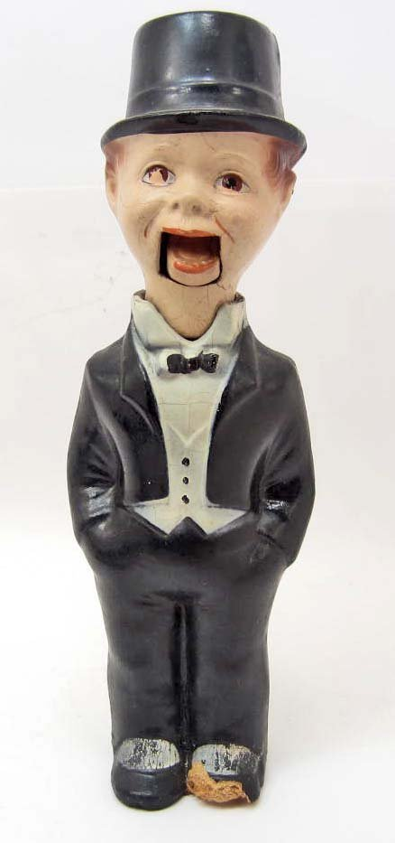 C. 1930'S CHARLIE MCCARTHY PULL STRING PUPPET DOLL -