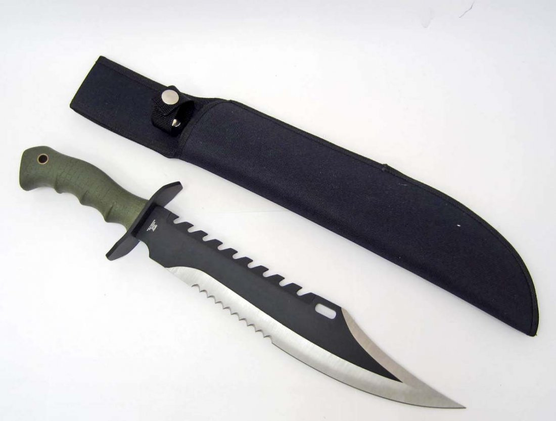 MARINE RECON BOWIE KNIFE W/ SHEATH