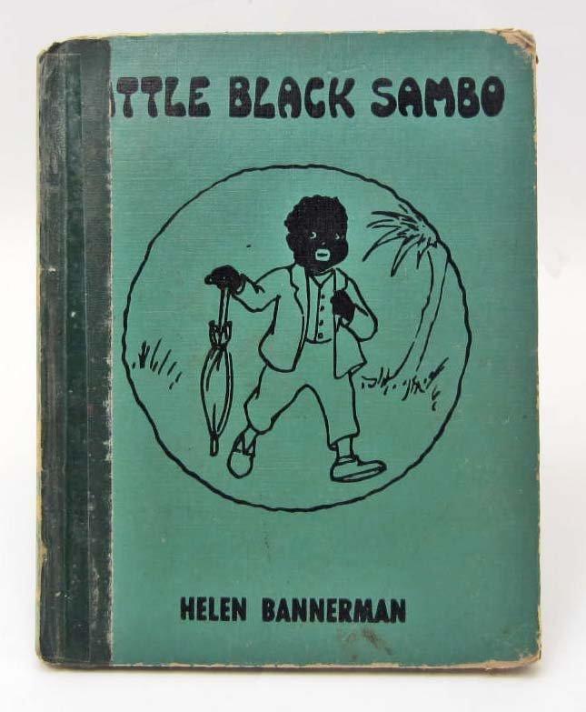 """1955 """"LITTLE BLACK SAMBO"""" HARDCOVER BOOK"""