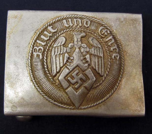 GERMAN NAZI BLUT UND EHRE BELT BUCKLE