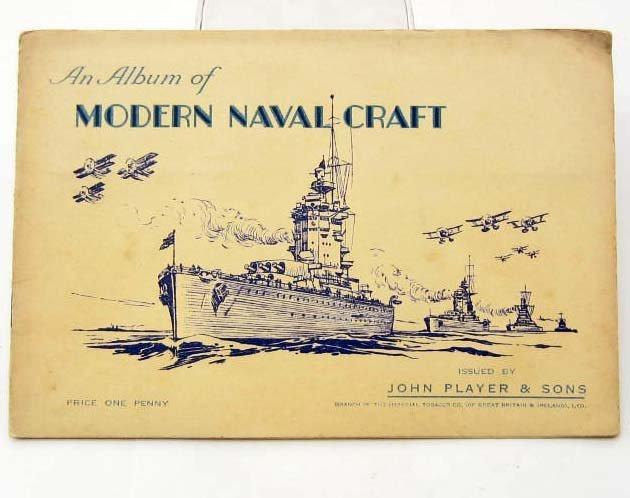 1939 PLAYER TOBACCO CIGARETTE CARD ALBUM W/ FULL SET OF
