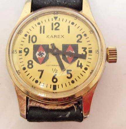 German Nazi Hitler Youth Wrist Watch