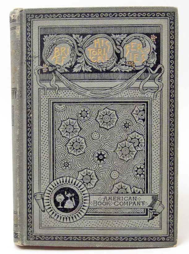 "1899 ""A BRIEF HISTORY OF THE HAWAIIAN PEOPLE"" BOOK"
