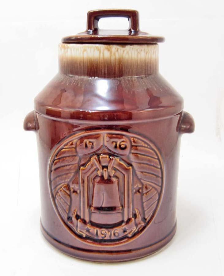 COOKIE JAR - MILK JUG 1776-1976 - MCCOY USA