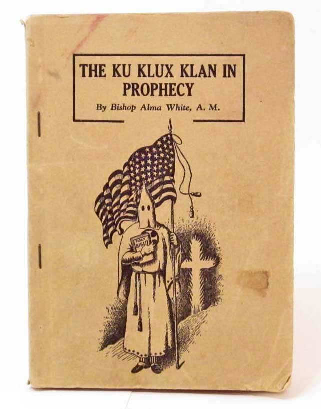 """1925 """"THE KU KLUX KLAN IN PROPHECY"""" BOOK"""