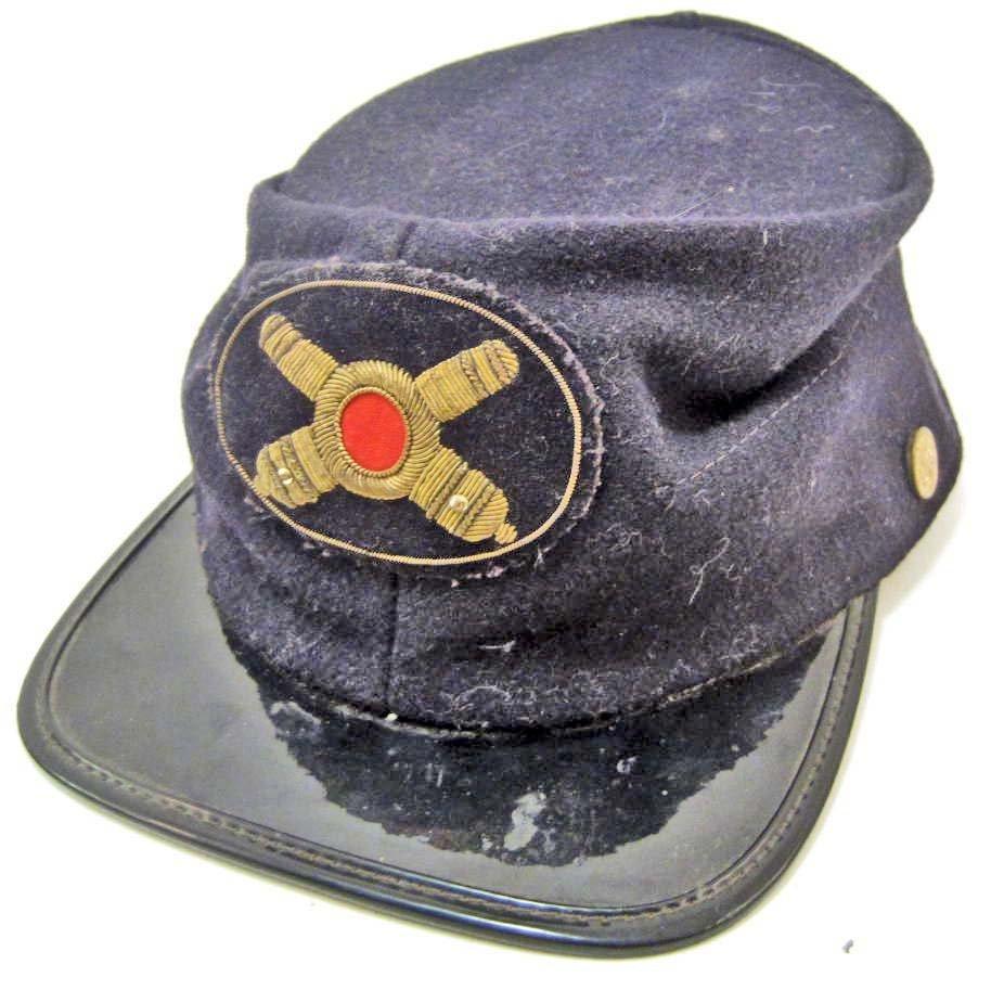 US CIVIL WAR UNION ARMY ARTILLERY OFFICERS KEPI CAP