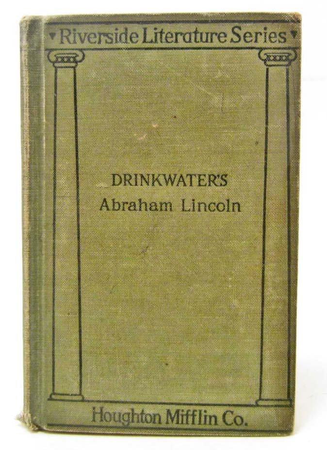 "1919 ""RIVERSIDE LITERATURE SERIES ABRAHAM LINCOLN"" BOOK"