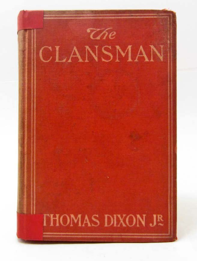 """1905 """"THE CLANSMAN"""" HARDCOVER BOOK"""