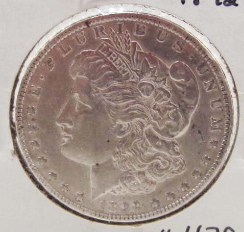 1892-O MORGAN SILVER DOLLAR