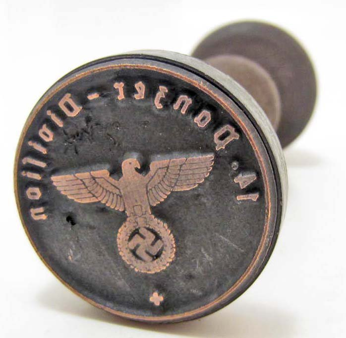 GERMAN NAZI RUBBER STAMP