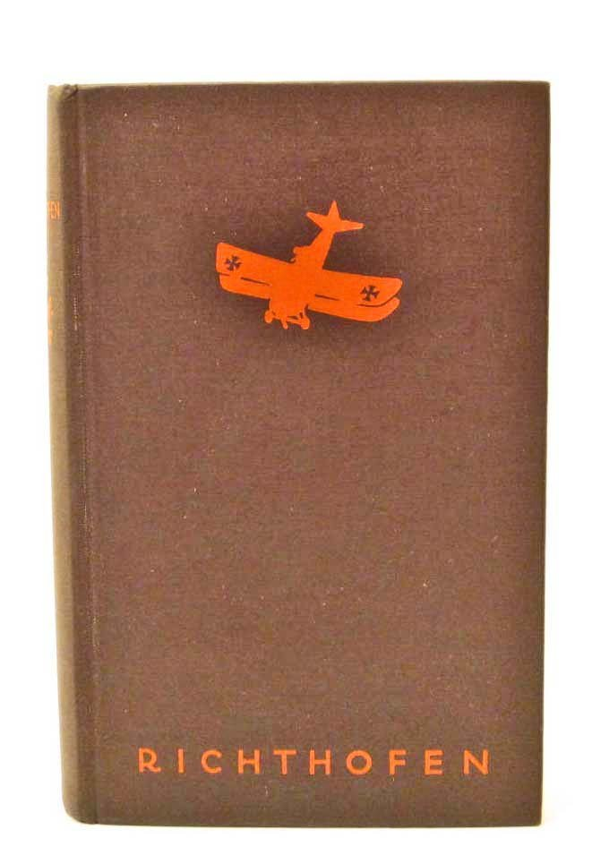 "1933 ""THE RED FIGHTERS"" GERMAN HARDCOVER BOOK"