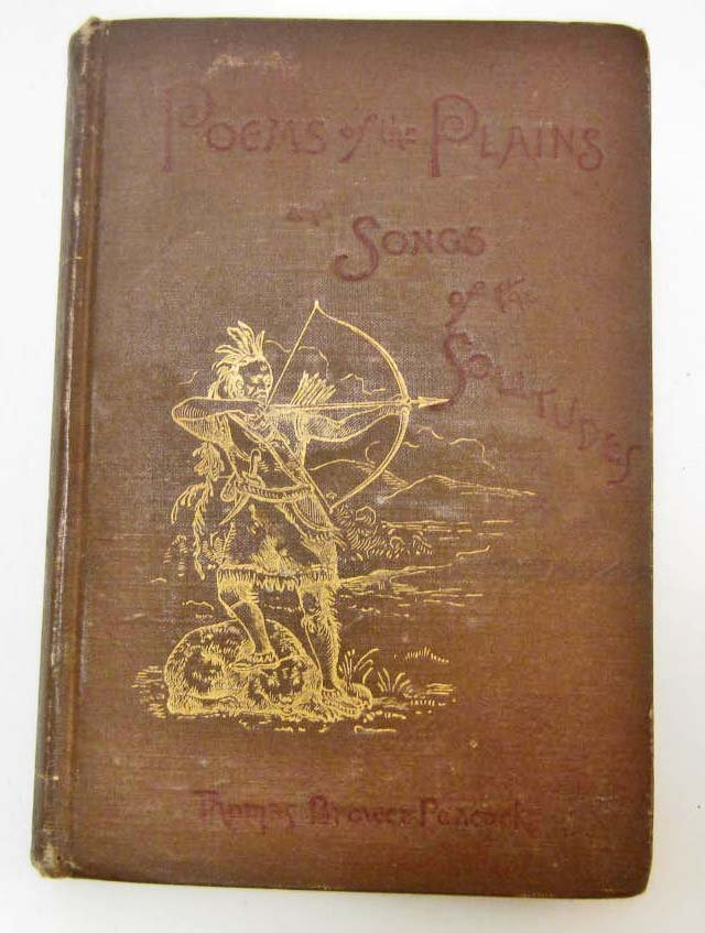 "1888 ""HOMES OF THE PLAINS & SONGS OF THE SOLITUDES"""