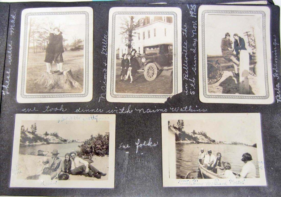 C. 1920'S PHOTO ALBUM W/ APPROX. 135 PHOTOS