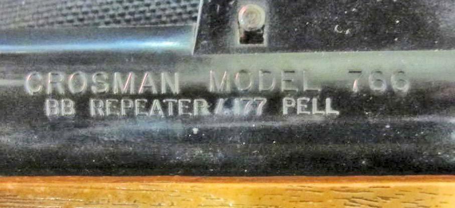 C. 1975 VINTAGE CROSMAN MODEL 766 BB REPEATER RIFLE - 4