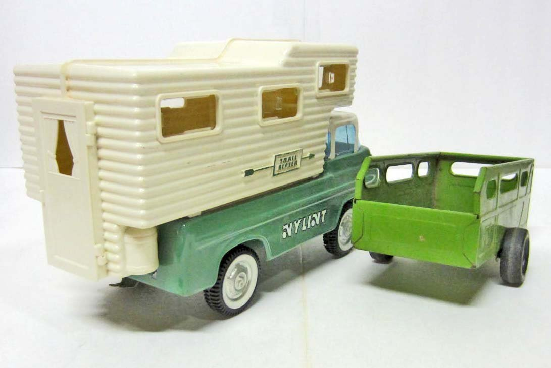 C. 1960'S NYLINT FORD ECONOLINE TRUCK W/ CAMPER TOP - 2