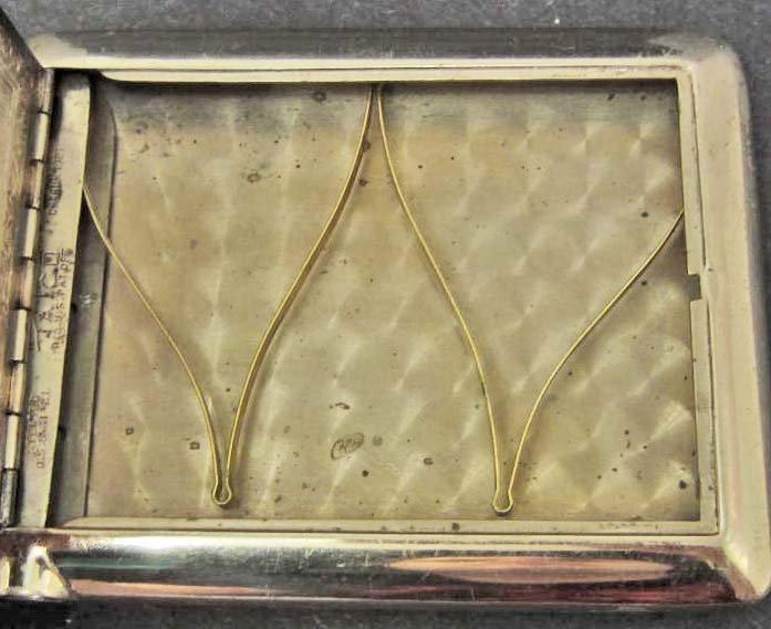 1921 ART DECO CIGARETTE CASE W/ DISPENSER - 3