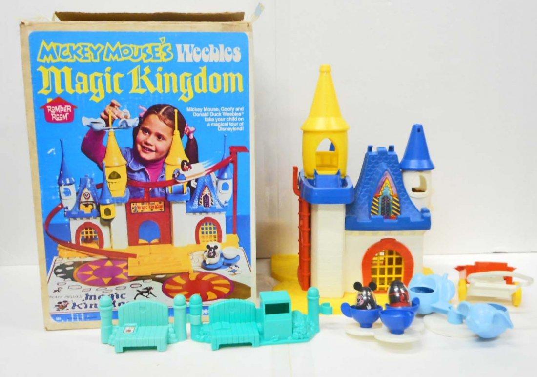 VINTAGE 1970'S DISNEY WORLD MAGIC KINGDOM PLAYSET