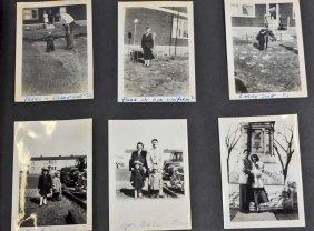 C. 1940's Photo Album W/ Approx. 180 Photos
