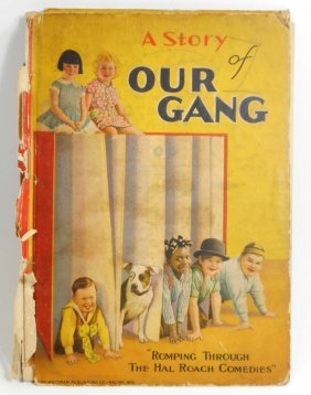 """1929 """"a Story Of Our Gang"""" Hardcover Book - Little"""